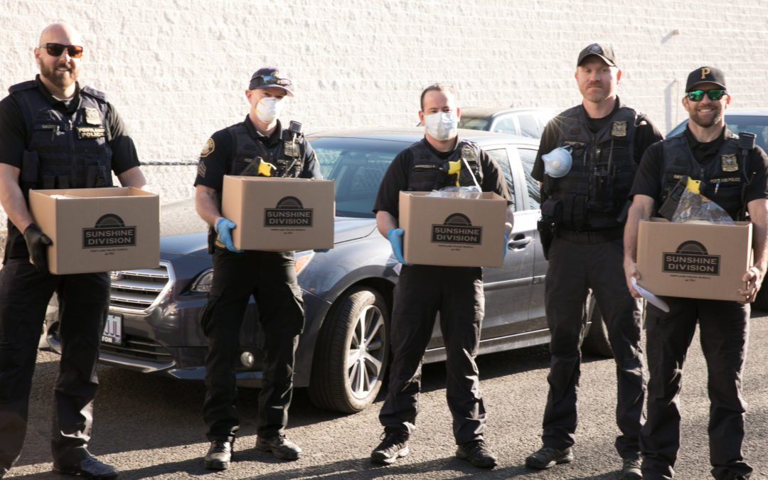 Tapping the Police to Distribute Food
